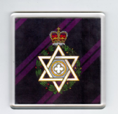 ROYAL ARMY CHAPLINS DEPARTMENT ( JEWISH ) LARGE ACRYLIC COASTER